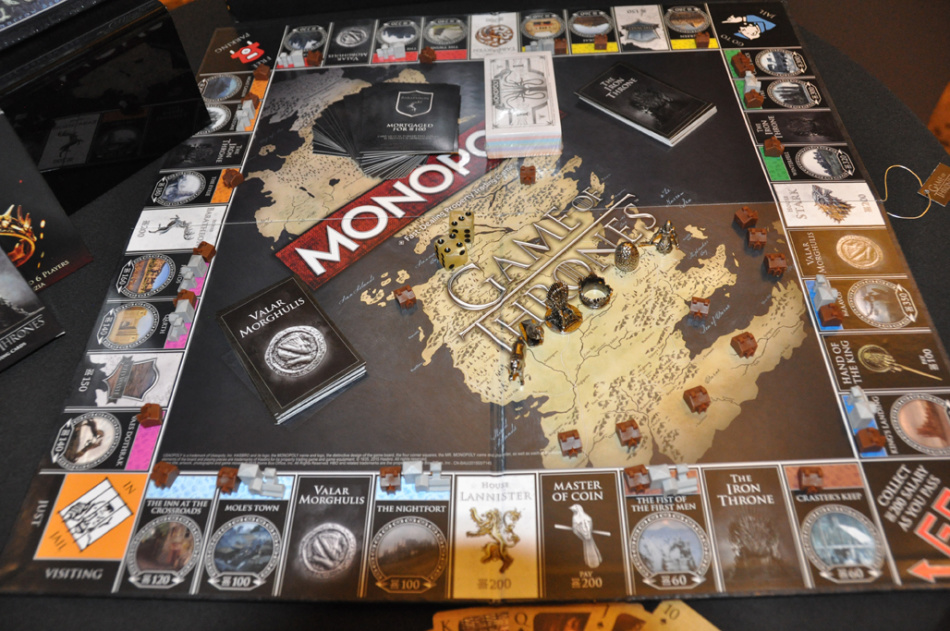 Collectors Edition Game Of Thrones Monopoly Board Game 2015